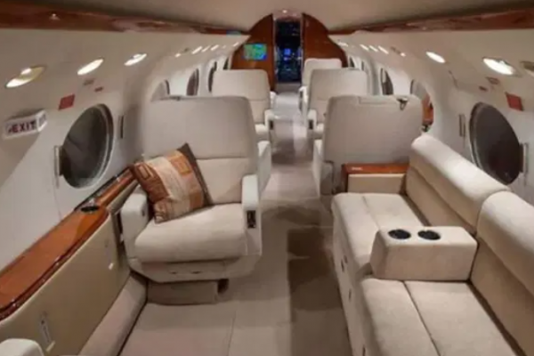Take a look at Lionel Messi 's luxury private jet