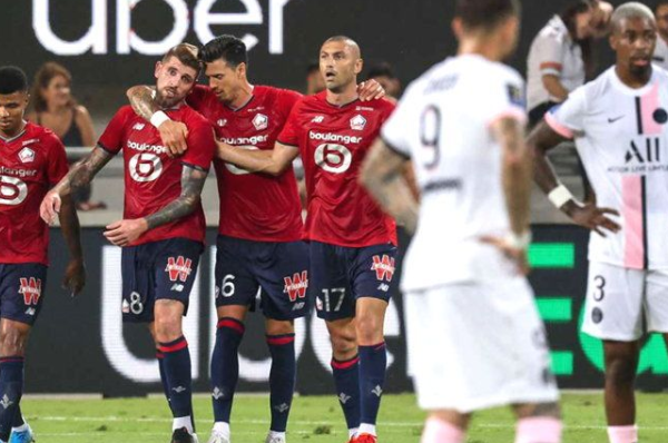 Lille defeats PSG 1-0 to win first Super Cup